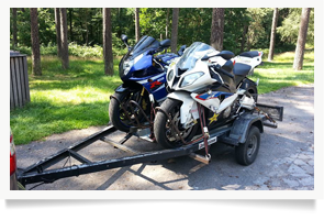 Bulli Kombinat - Urlaub mit Motorrad